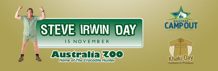 Click here to view the tribute to Steve Irwin